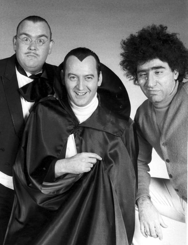 SCTV greats-John Candy, Joe Flaherty & Eugene Levy