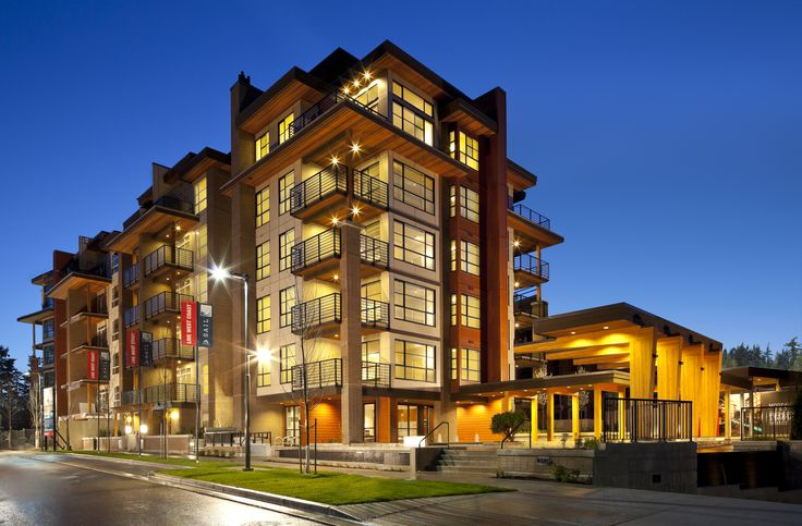 6-storey wood-frame building at UBC, Vancouver by Adera