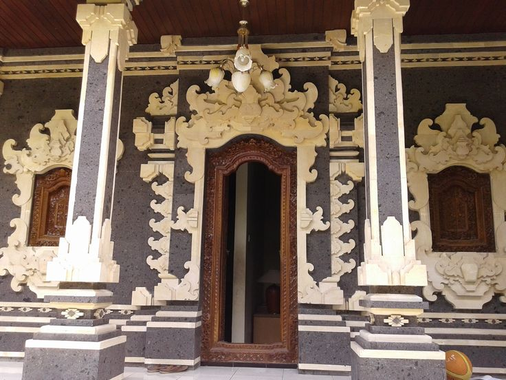 Modern but traditional Balinese House.