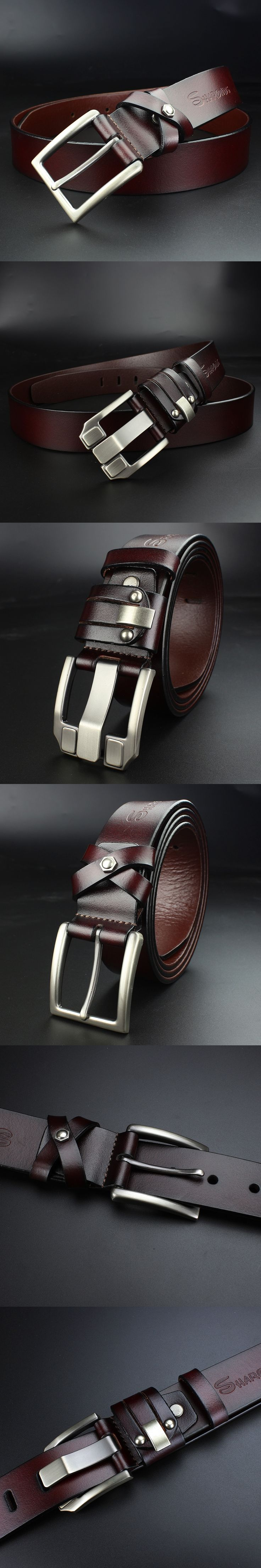 Men's belt luxury designer High quality Genuine leather man belt Pure cowhide skin strap male Formal men girdles