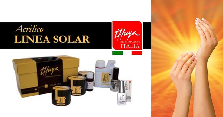 La linea SOLAR di THUYA offre alla professionista tutti i prodotti necessari alla realizzazione di un prodotto acrilico da scultura, dal risultato esteticamente perfetto e duraturo. La sua innovativa composizione è stata creata e testata per garantire alla ricostruzione, una protezione totale dalle radiazioni UV (solari o artificiali).