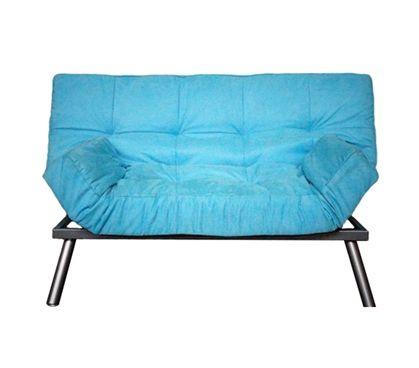 The College Cozy Sofa (Mini-Futon) - Aqua