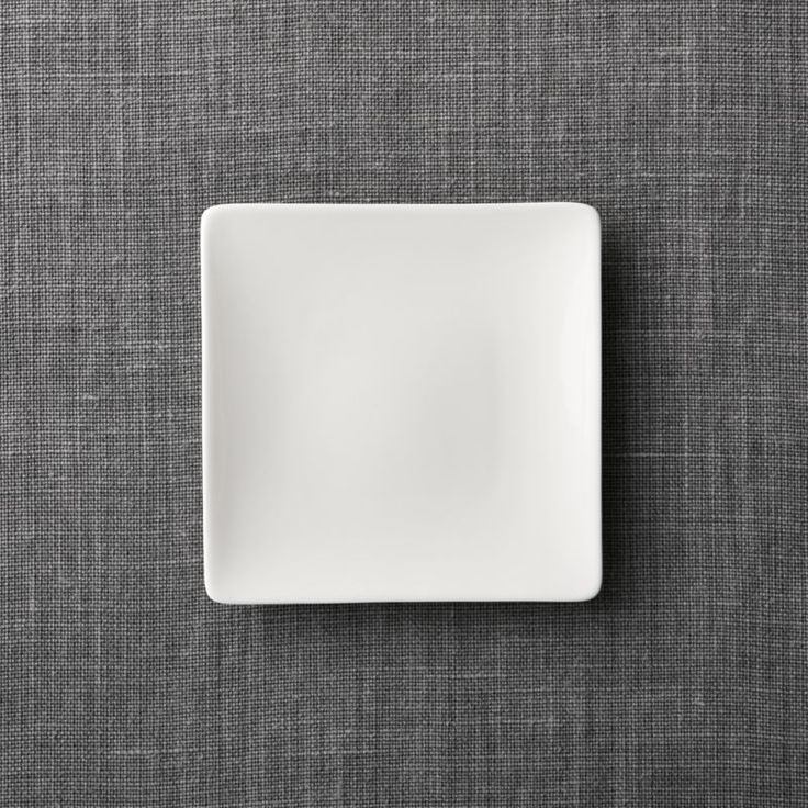 Shop Bennett Square Appetizer Plate. The traditional quality and translucence of fine white bone china are reinterpreted for the modern table by designer Martin Hunt as a pristine collection of contemporary square shapes that dress up or down.