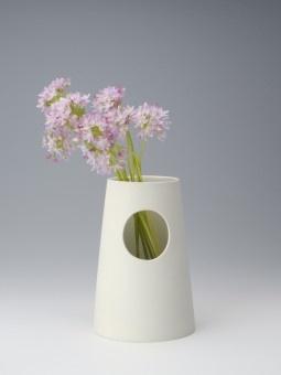Vase aus Porzellan für üppige Blumensträuße!