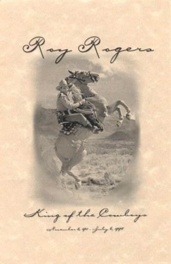 Happy Trails Forever™- Honoring the *King of the Cowboys* & *Queen of the West* - Roy Rogers and Dale Evans Memorials