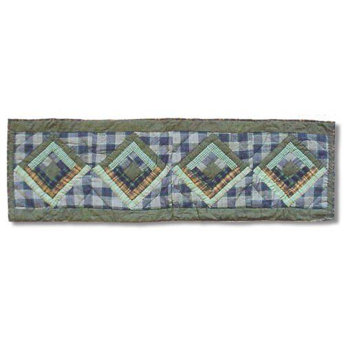 Patch Magic Small Green Log Cabin Table Runner, 54 Inch By 16 Inch By Patch  Magic. $29.00. Matching Accessories Available. 100 Percent Cotton,  Handmade, ...