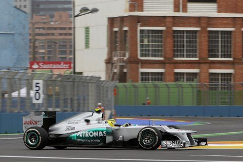 F1 Training in Valencia