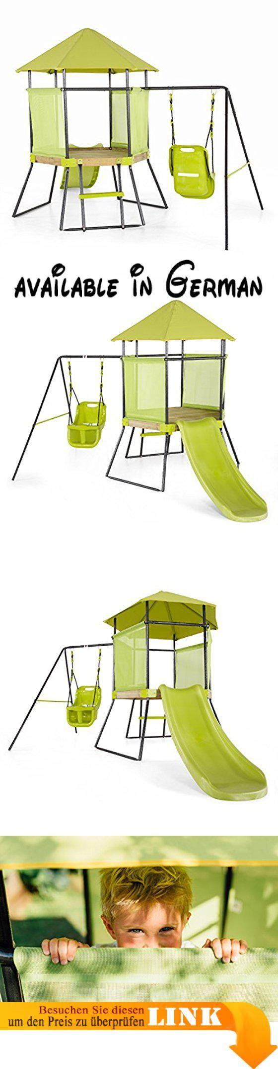 Plum My First Schaukel- und Spielcenter. Schaukel- und Spielcenter mit Rutsche und Schaukel (ab 3 Jahren geeignet). Fördert die Entwicklung von kognitiven und motorischen Fertigkeiten. 1,2m lange Rutsche. Spielhaus mit Dach und Seitenwänden. Dieses Produkt wird Ihnen per Spedition bis vor die Haustüre geliefert. Eine Rücksendung und Erstattung ist für diesen Artikel ausgeschlossen. #Baby #BABY_PRODUCT