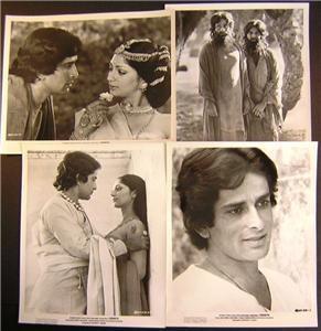 Orig Movie 4 Photo Lot Shashi Kapoor Siddhartha