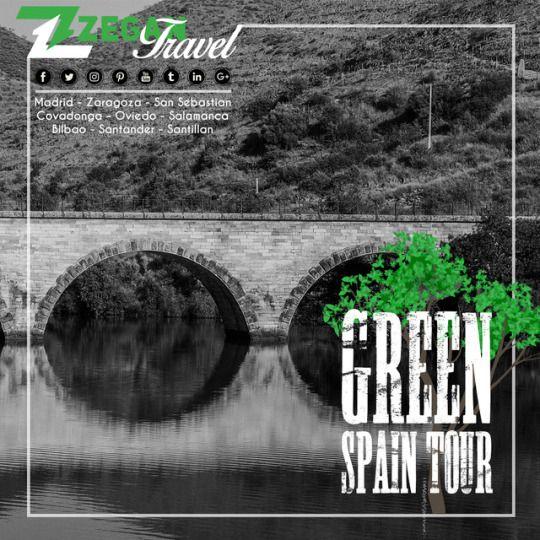 Green Spain Tour (5 days- 4 nights) *Madrid - Zaragoza - San Sebastian -Bilbao -Santander - Santillan - Covadonga - Oviedo - Salamanca *Airport Transfers *Guided Daily Tours  Contact us now info@zegantravel.com http://www.zegantravel.com/Green-Spain-Tour1 #spain #spaintour #spaintravel #greenspain #madrid #madridtour #madridtravel #zaragoza #sansebastian #bilbao #santander #santillan #covadonga #oviedo #salamanca