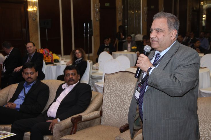 Nalin Kohili, Chairman,India Soft participated in the Q & A Session