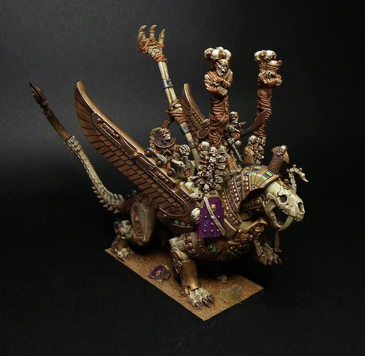 Warhammer FB | Tomb Kings #warhammer #ageofsigmar #sigmar #wh #whfb #gw #gamesworkshop #wellofeternity #miniatures #wargaming #hobby #fantasy