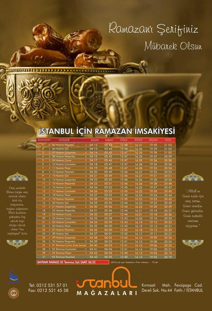 İMSAKİYE09