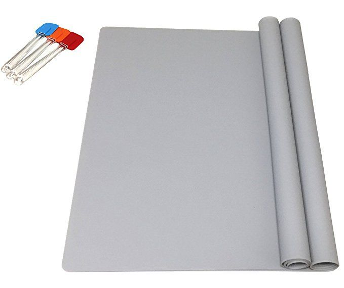 Ephome 2pack Extra Large Multipurpose Silicone Nonstick Pastry Mat Heat Resistant Nonskid Table Mat Countertop Protecto Table Mats Extra Large Heat Resistant