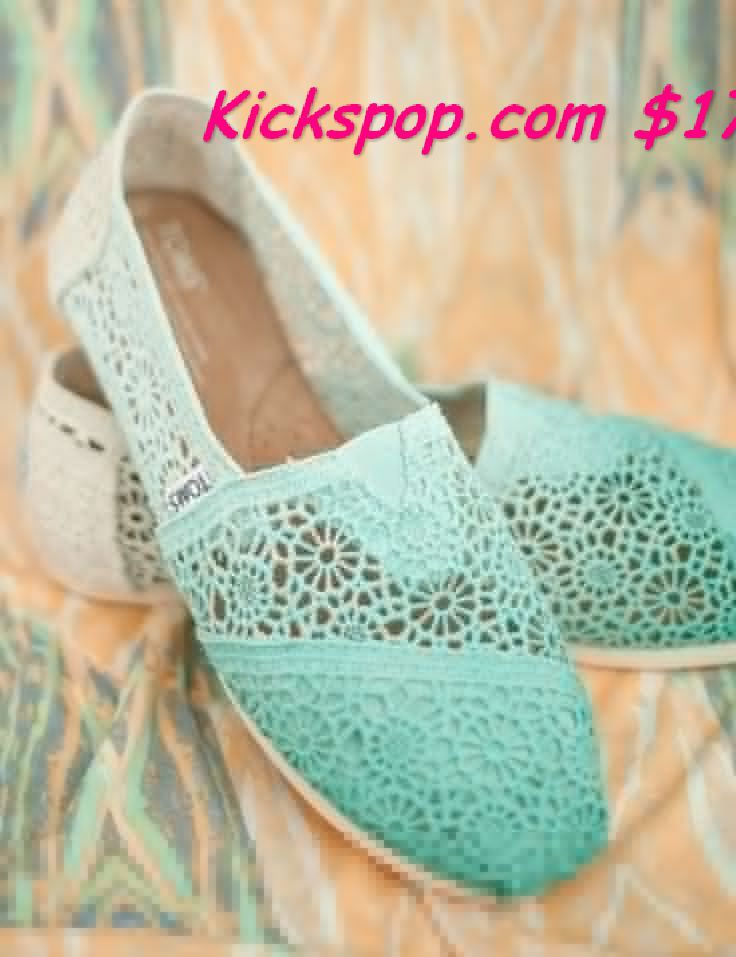 I found Dip Dye Crochet Ombre TOMS Shoes on Wish, check it out! #buytoms2013.com