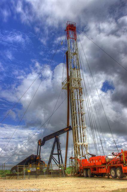 Oil Derrick, Odessa, Texas