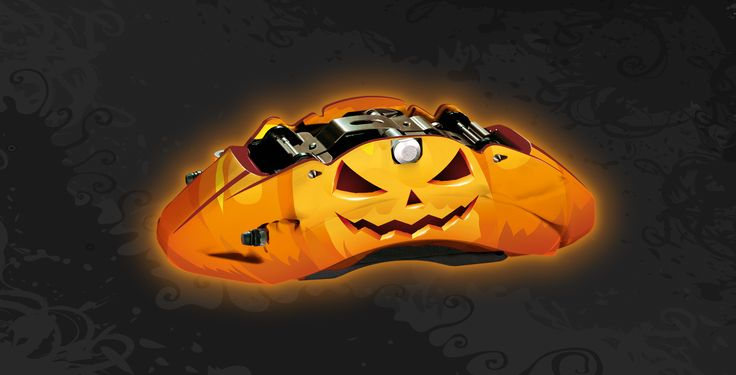 Happy #halloween by #Brembo #Brakes #clippers #spooky #pumpkin