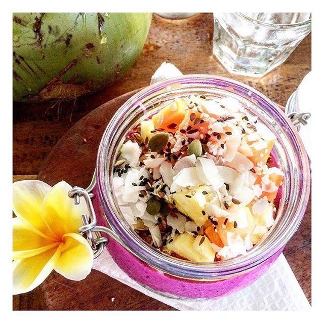 Dragonfruit Chia pod, light, healthy | WEBSTA - Instagram Analytics