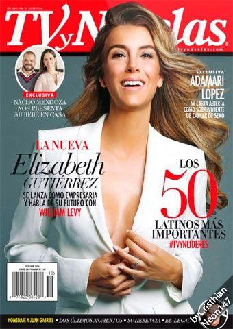 TV y Novelas USA (Español) - Octubre 2016 - Los 50 latinos más importantes, Elizabeth Gutiérrez