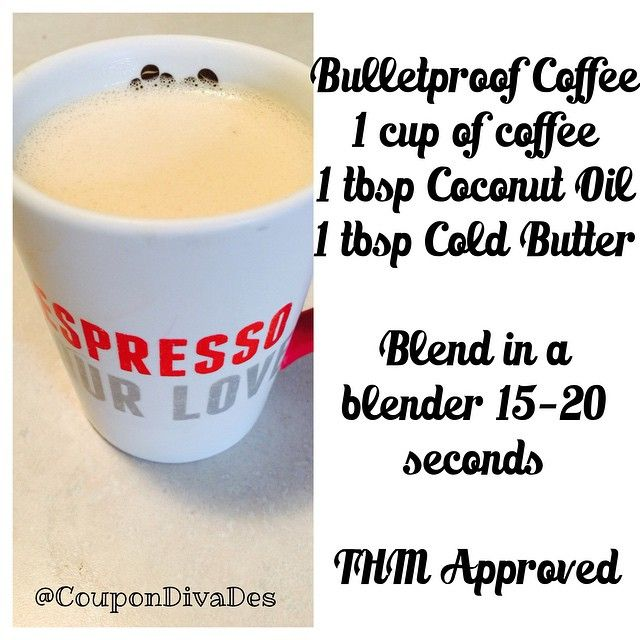 Trim Healthy Mama – Bulletproof Coffee Recipe. Awesome Low carb recipe too!