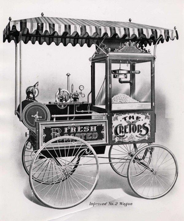 Cretor's Popcorn Wagon (Version 2)