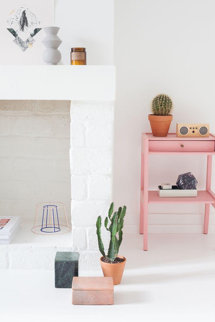 Kleurrijke urban jungle in een interieur met een minimalistische basis