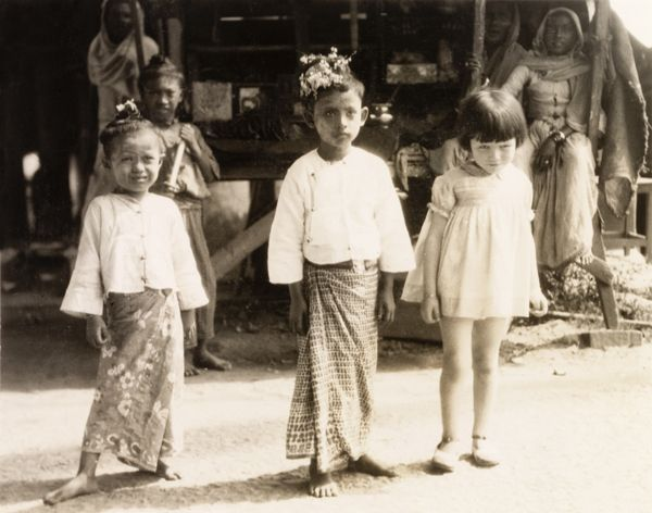 Children in Burma, 1931