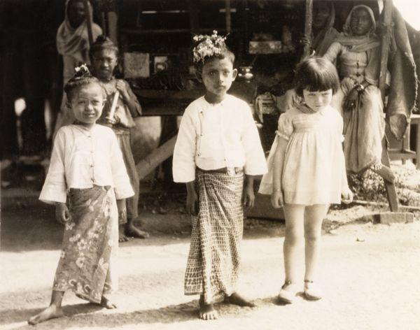 Children in Burma, 1931