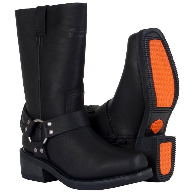 harley davidson women   Hustin Waterproof Boots - Harley Davidson Womens, 86222-10