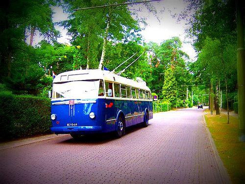 Trolleybus Arnhem Netherlands