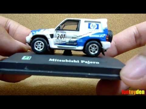 Mitsubishi Pajero - Cararama Die-cast Car Collection Unboxing