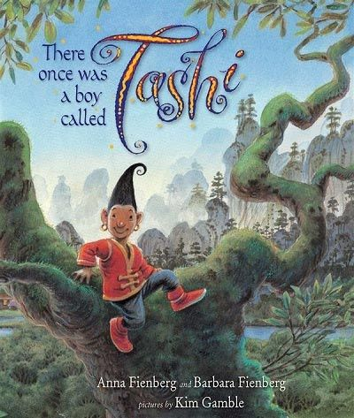 There Once was a Boy Called Tashi by Anna Fienberg and Barbara Fienberg pictures by Kim Gamble There once was a boy called Tashi, who had a way with witches and warlords, and an amazing capacity for magical adventures. Gorgeous illustrations and curious and cryptic names – like Gloomin the ogre and Luk Ahed the fortune teller – will captivate older preschoolers, as will the clever story. With luck, they will then be keen to try the rest of the series in the early #books #childrensbooks…