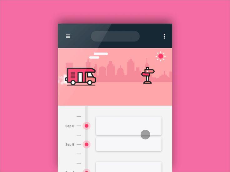 Inspirational UI Design 14 - UltraLinx