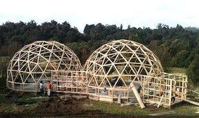 Innovadora apuesta de construcción de Casas Domo en Biobío