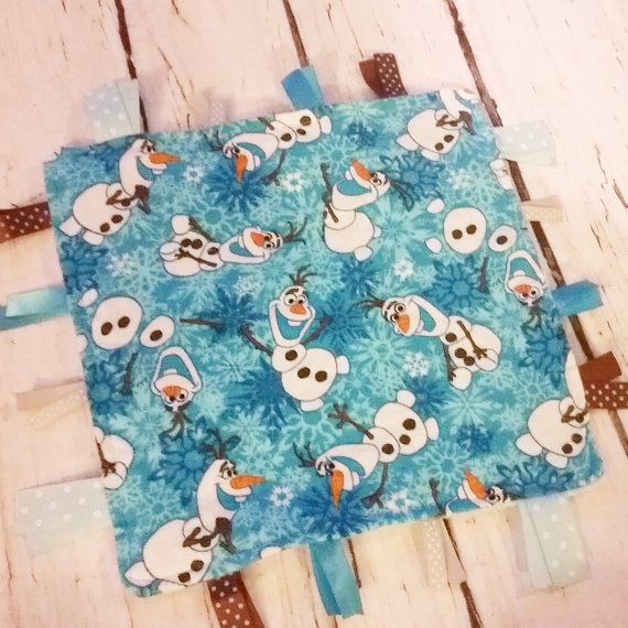 ONLY ONE LEFT Frozen tag blanket Girls by AngelCreationBoutiqu #frozen #olaf