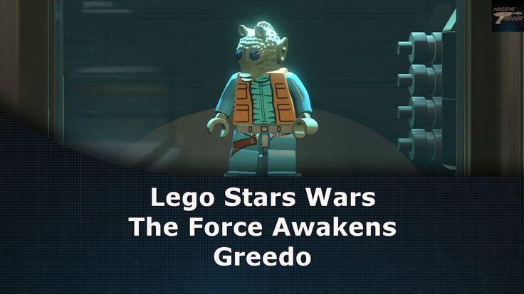 Lego Star Wars The Force Awakens Greedo Unlock Location