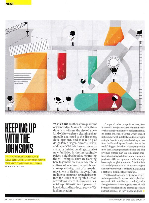 Fast Company Magazine on Illustration Served