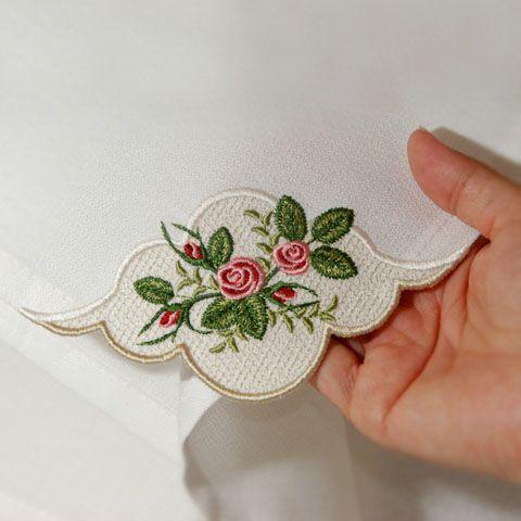 Heirloom Roses Napkin Corner-Sonia Showalter Designs, Sonia Showalter,download embroidery patterns,downloadable embroidery,embroider patterns, embroidery downloads,