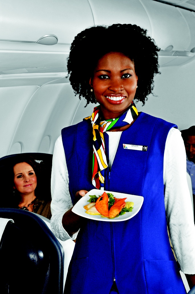 "What better way to say ""Welcome Aboard?"" #SAA #SouthAfricanAirways #Travel"