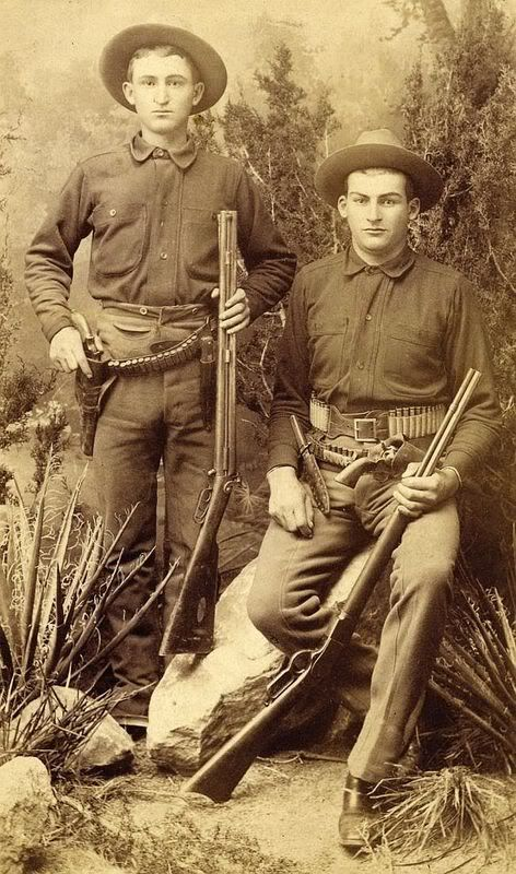 New Mexico Cowboys 1880s: