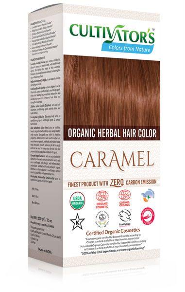 Cultivator's - Ekologisk Hårfärg Caramel, 100 g
