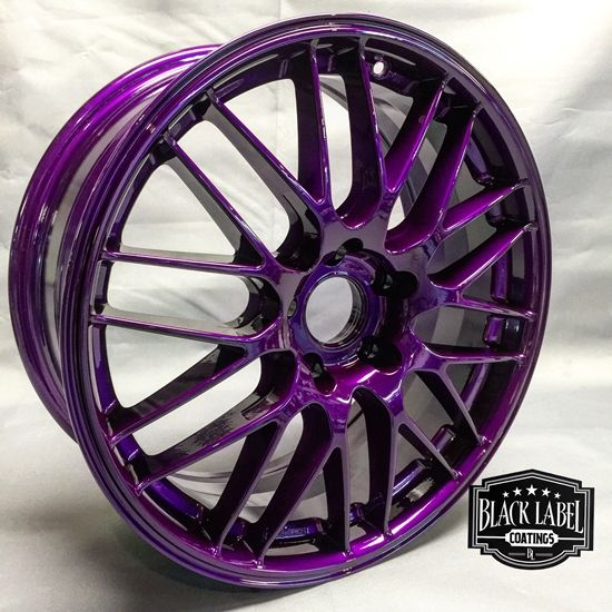 Dormant Purple Custom Powder Coated Rims   http://www.columbiacoatings.com/store/p/31-Dormant-Purple-TGIC.aspx  #powdercoating #powdercoated #powdercoat #Automobile #Engine #Black #Texture #Custom #Fabrication #Cars #motorcycle
