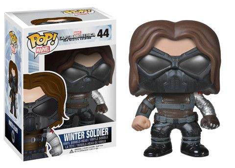 Pop! Marvel: Capt. America Movie 2 - Winter Soldier | Funko