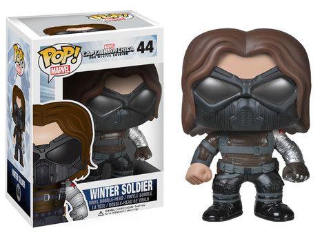 Pop! Marvel: Capt. America Movie 2 - Winter Soldier   Funko
