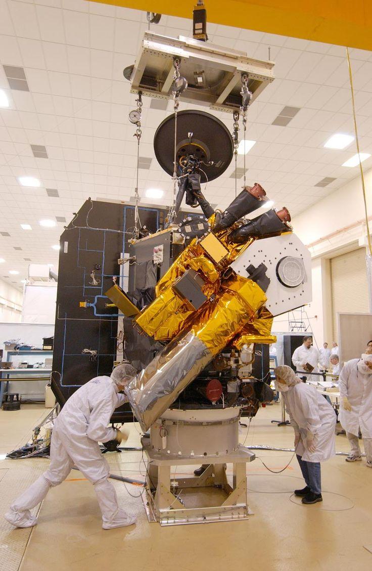 Deep Impact probe assembly