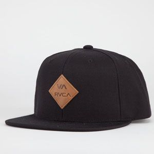 RVCA Delux Mens Snapback Hat  f5c7069a328