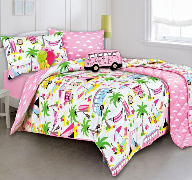 Kooky Beach Holiday Quilt Cover Set Range