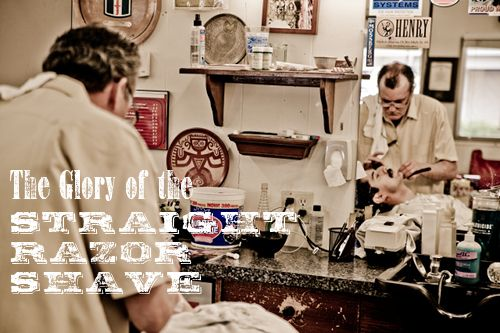 Photo Essay: The Straight Razor Shave (via @Art of Manliness) // Seriously, what man doesn't love a proper straight-razor shave?