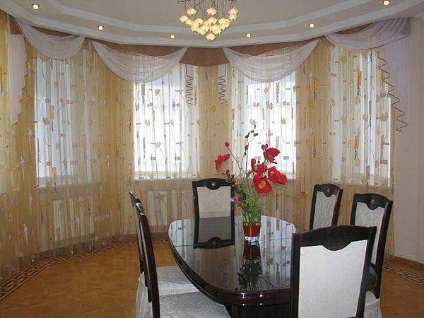 35 Creative Ways To Hang Curtains Like A Pro With Images Beautiful Dining Rooms Kitchen Curtain Designs Modern Kitchen Window