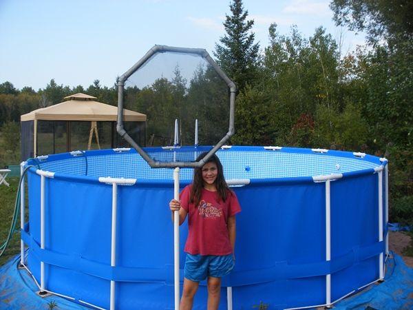Sta-Right Above Ground Pool Skimmer | Homemade Pool Skimmer for Intex Above Ground Pool